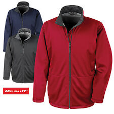 RESULT CORE uomo Softshell Stretch Giacca traspirante anti vento idrorepellente