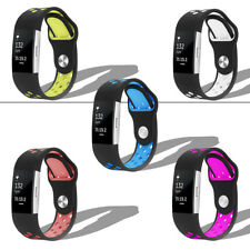 Silicone Sports Strap For Fitbit Charge 2 Replacement Bracelet Watch Band Wrist
