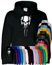 Punisher Skull Hoody MMA Bodybuilding Muscle Gym Sweater Pullover Thicken Jacket