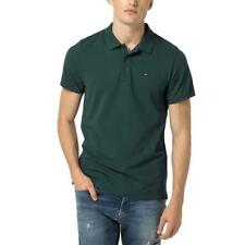 TOMMY HILFIGER POLO IN PIQUE VERDE