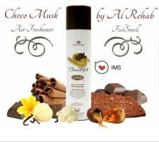 Choco Musk  Airfreshner Fragrabces Spray Perfume 300 ML by Al Rehab