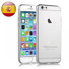FUNDA 100% GEL SILICONA TRANSPARENTE PARA Apple Iphone 4 5 5s 6 6s 7 8 Plus X