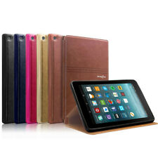For Amazon Fire HD 7/8 th  Fire 7 2017 Shockproof Leather Folio Case Stand Cover