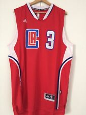 camiseta de triantes nba basket Chris Paul jersey Los Angeles Clippers camiseta