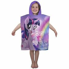 Children My Little Pony Equestria Hooded Poncho Towel Boys Girls Favorite Carton