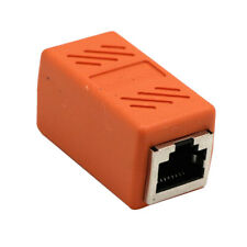 Cat7 RJ45 Lan Network Ethernet Cable Extender Joiner Adapter Coupler Connector