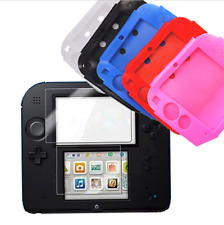 FAST Protective Soft Silicone Rubber Gel Skin Case Cover Skin for Nintendo 2DS