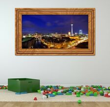 3d Adhesivo de pared Berlin Skyline CAPITAL Imagen Foto Mural 11f060