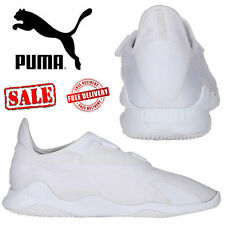 PUMA Mostro Mens Womens Shoes Triple White Retro Sports Trainers Unisex Shoes