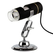 S2 USB 8 LED 1X500X DIGITAL MICROSCOPE ENDOSCOPE MAGNIFIER VIDEO CAMERA REAL