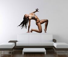 3D Mural Tattoo Sexy Woman Nude Pose Erotic Mauer Act Decal Wall Sticker a3d207