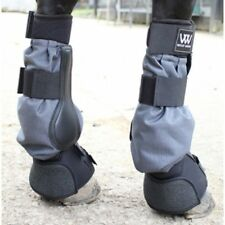 WOOF WEAR MUD FEVER TURNOUT BOOTS 1 PAIR BLACK HORSE PONY EQUINE