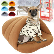 New Puppy Soft Warm Cave House Winter Sleeping Bag Mat Pad Pet Cat Dog Nest Bed