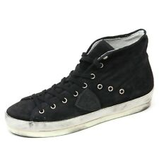 C6174 sneaker alta donna PHILIPPE MODEL scarpa nero shoe woman