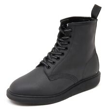 D4144 (without box) anfibio donna DR. MARTENS WHITON nero shoe boot woman