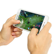 2PCS CLEAR MOBILE TOUCH SCREEN GAME JOYSTICK CONTROLLER SUCKER FOR MOBILE PHONE