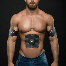 New Abs Electrical Muscle Stimulator Fit Body Training Gear Toning Stimulation