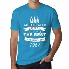 1967, Only the Best are Born in 1967 Hombre Camiseta Azul Regalo 00511