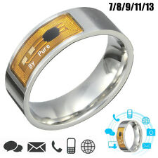 7891113 SIZE NFC TAG SMART MAGIC FINGER RING FOR SAMSUNG ANDROID PHONE