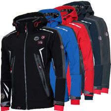 Geographical Norway Giacca Softshell Uomo Pioggia Outdoor AUTUNNO übergags