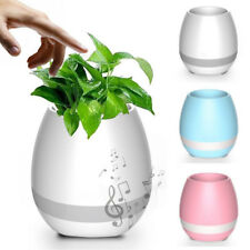 BAKEEY K3 WATERPROOF WIRELESS BLUETOOTH SPEAKER LED FLOWER POT TOUCH PIANO MUSIC