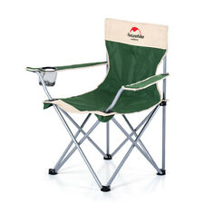 NATUREHIKE OUTDOOR FOLDING CHAIR ARMCHAIR STEEL PIPE WITH A STORAGE BAG