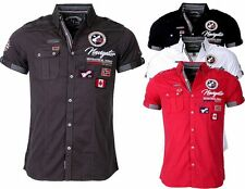 GEOGRAPHICAL NORWAY Camisa De Hombre Camiseta manga corta Polo Club zariminel
