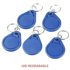 LLAVE TAG RFID NFC S50 13,56 MHZ UID REGRABABLE