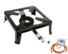 SGB-06 Gas Stove Cast Iron Single Burner Large Boiling Ring 6kW Camping Catering