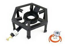 SGB-08 Gas Stove Large Boiling Ring Cast Iron Burner Camping 8kW Outdoor LPG