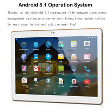 10'' Pollici 16GB Bluetooth Android 5.1 Tablet PC WIFI DUAL SIM / videocamera