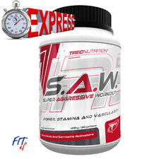 TREC SAW S.A.W. 400g PRE-WORKOUT BOOSTER ENERGIE MUSKELAUFBAU AAKG €7,1/100g TOP