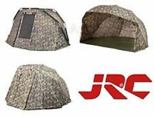 JRC*Brand New*Limited Edition Camo Contact 1&2 Man Bivvy ,Brolly & Wraps Range