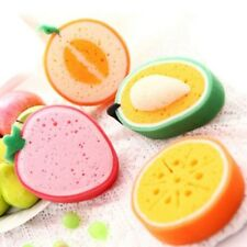 Cute Rags Fruit Shape Scouring Pads Sponge Kitchen Health Cleaning Dishcloth