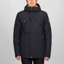 Quiksilver 'Mission Solid' Snowboard Jacket. Black.