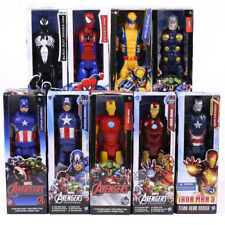 New Marvel Titan Hero Series Captain America Thor  Spiderman PVC Action Figures