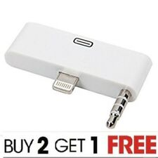 100%CE Approved Lightning to 30-pin Adapter for iPhone iPad iPod With Headphone