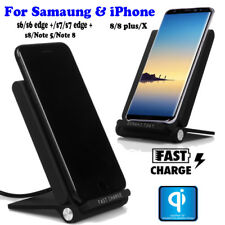 UGI Qi Wireless LED Charger Charging Stand Dock For Samsung Galaxy S7 S8 Note 8