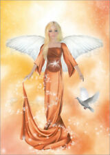 Cuadro sobre lienzo Angel of Love - Dolphins DreamDesign