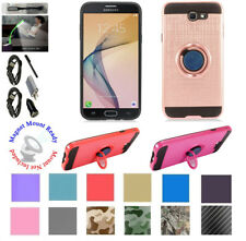 for Samsung Galaxy J7 2017 SKY PRO Case Mag Mount Ready Kickstand Hybrid Cover +
