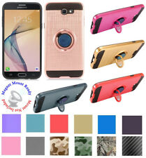 for Samsung Galaxy J7 2017 SKY PRO Case Mag Mount Ready Kickstand Hybrid Cover