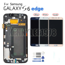 For Samsung GALAXY S6 Edge G925 G925F Amoled lcd display touch screen Schermo