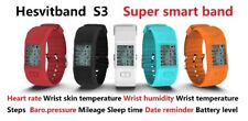 Hesvit S3 Smart Watch Bluetooth Heart Rate Health Monitor For IOS Android