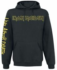 Iron Maiden Live After Death Felpa con cappuccio nero