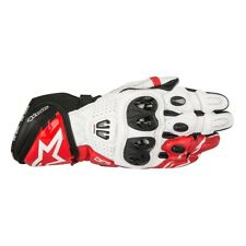 Alpinestars GP Pro R2 Mens Motorcycle Sport Black White Red Leather Gloves