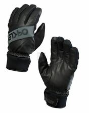 OAKLEY FACTORY WINTER GLOVE JET BLACK GUANTI SNOWBOARD SKI FW 2016 NEW S M L XL