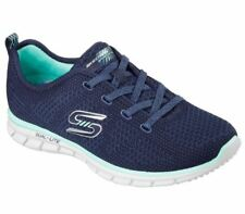 Scarpe Skechers Glider Forever Young Slip On 22880 NVGR Donna Memory Foam Navy