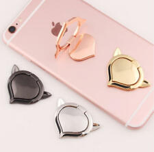 Universal 360 Rotation  Cell Phone Tablet Finger Ring Stand Holder Metal Plate