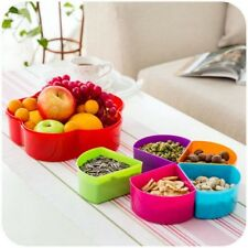 Detachable Band Cover Fruit Bowl Dried Fruit Snack Box Candy Kitchen Storage