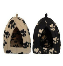 New Dog Cat Warm Fleece Winter Bed Igloo House Soft Luxury Basket For Pets Puppy